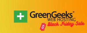 Greengeeks black friday