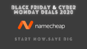 namecheap black friday & cyber monday 2020