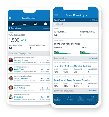 AWeber Stats Mobile App