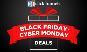 clickfunnels black friday & cyber monday