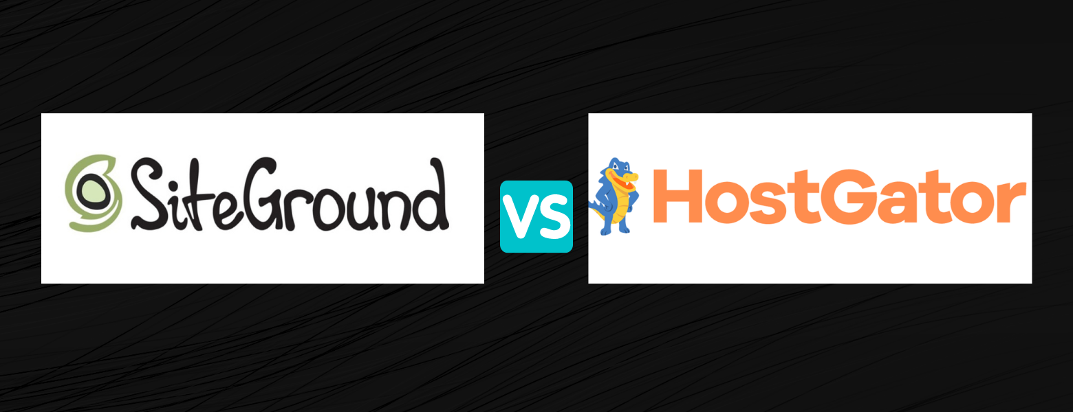 siteground vs hostgator comparison