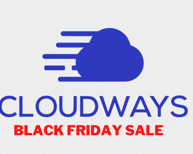 Cloudways Black Friday 2020 Sale-Get Upto 60% Discounts