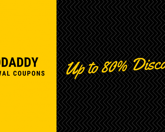 GoDaddy Promo Code & Coupons: Get Discounts up to 80%